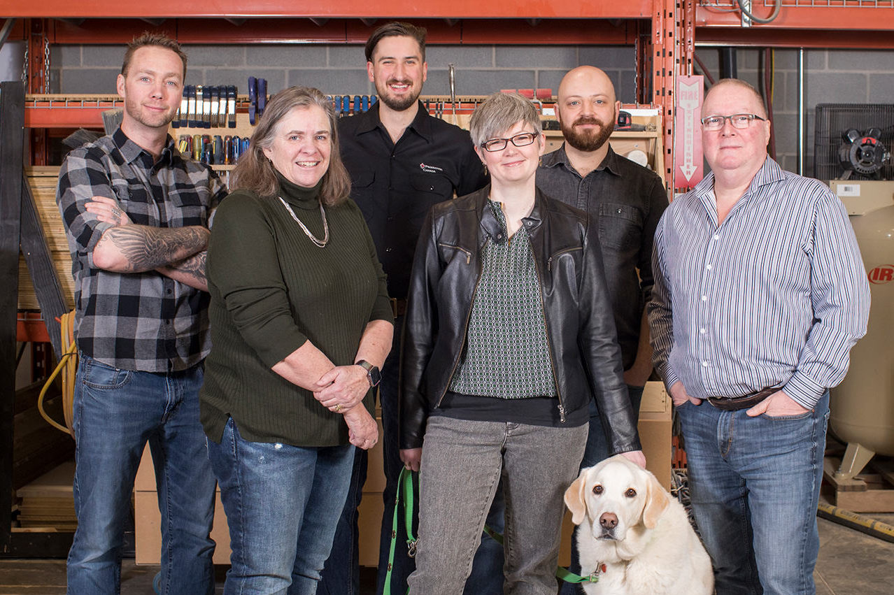 The Calgary team at Production Canada