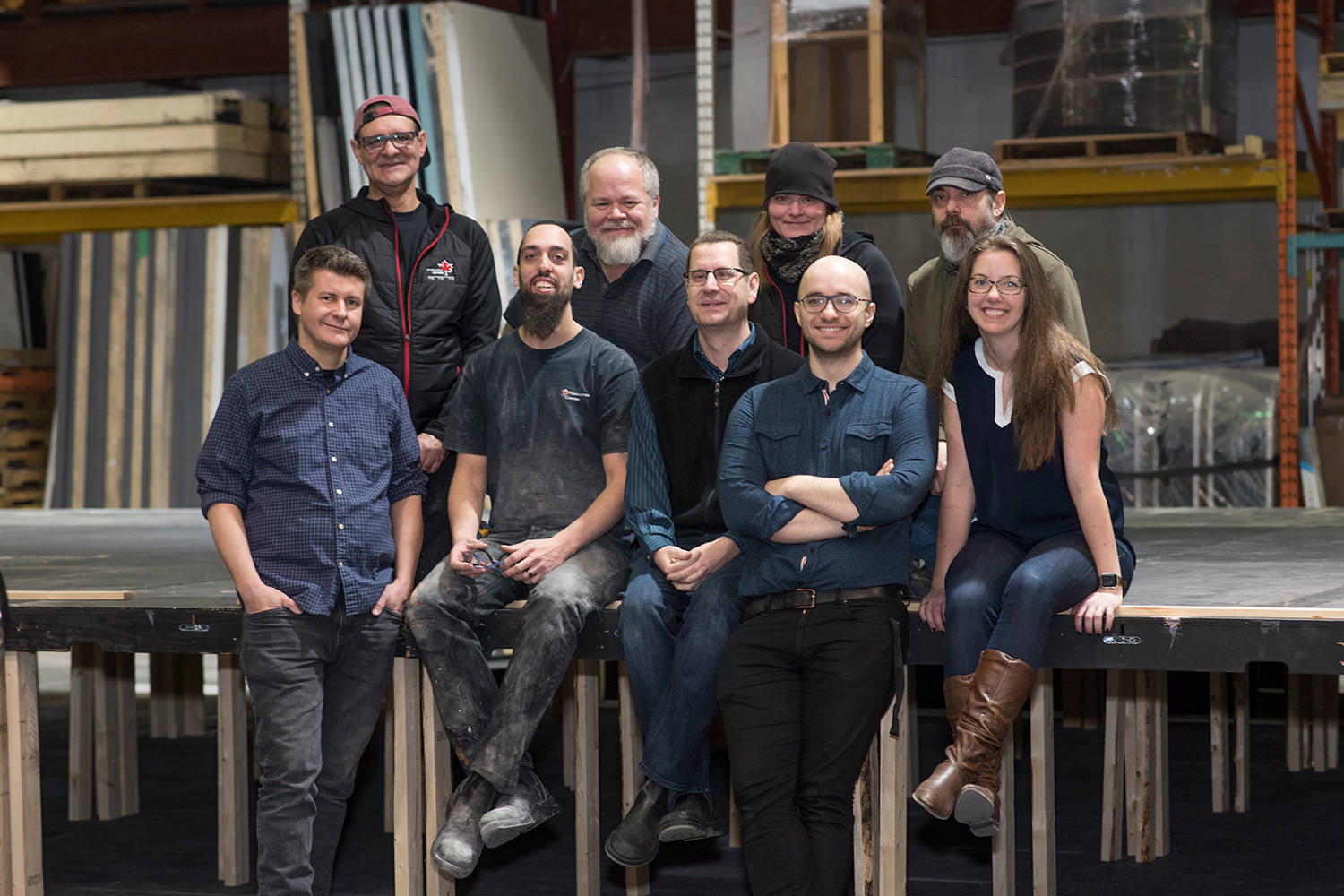 The Toronto team at Production Canada