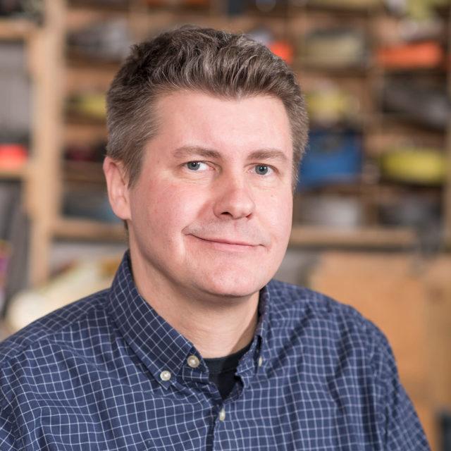 Headshot of Toronto team member Rich Vainio