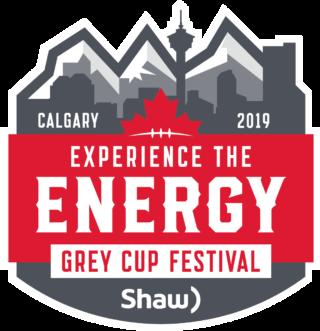 Calgary 2019 Grey Cup Festival logo